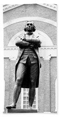 Samuel Adams Statue, State House Boston Ma Beach Towel