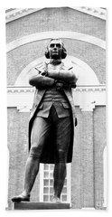 Samuel Adams Statue, State House Boston Ma Beach Sheet