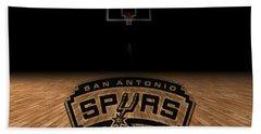 San Antonio Spurs Beach Towel