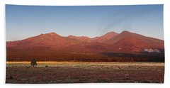 San Francisco Peaks Sunrise Beach Towel