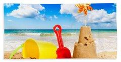 Sandcastle Beach Towel