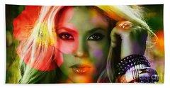 Shakira Beach Sheet by Marvin Blaine