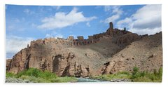 Shoshone River Beach Towel