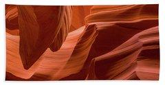 Slot Canyon, Lower Antelope Canyon Beach Towel