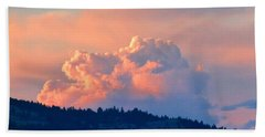 Soothing Sunset Beach Towel by Will Borden