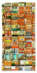 Southside Pittsburgh Beach Towel by Joe Jake Pratt