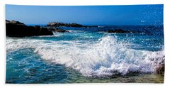 Surf's Up Beach Towel by Tammy Espino
