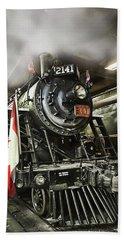 Steam Locomotive 2141 Beach Towel