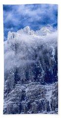 Stone Cold Beach Sheet by Aaron Aldrich