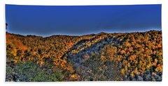 Beach Sheet featuring the photograph Sun On The Hills by Jonny D