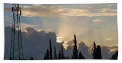 Sunrise Beach Towel by George Katechis