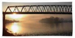Sunrise Over The Ohio Beach Sheet