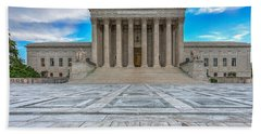 Beach Towel featuring the photograph Supreme Court by Peter Lakomy