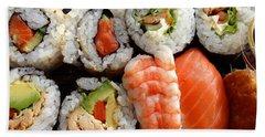 Sushi Beach Sheet by Les Cunliffe