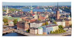 Sweden, Stockholm - The Old Town Beach Towel