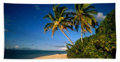 Tahiti French Polynesia Beach Towel