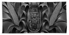 Tapestry Of Gods - Chicomecoatl Beach Towel