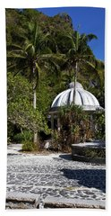 Temple In The Jungle Beach Towel