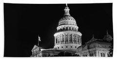 Texas State Capitol 2 Beach Towel
