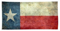 Texas The Lone Star State Beach Towel