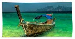 Thai Longboat Beach Sheet