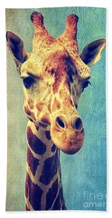 The Giraffe Beach Towel