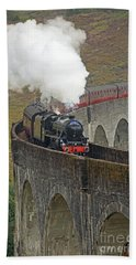 The Jacobite Steam Train Beach Towel