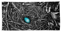 The Robin's Egg Beach Towel