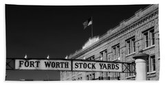 The Stock Yards Of Fort Worth Beach Towel