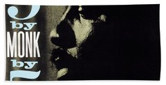 Thelonious Monk -  5 By Monk By 5 Beach Towel