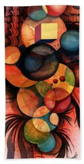 There Is One In Every Crowd Beach Towel by Sam Sidders