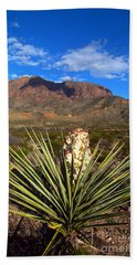 Torrey Yucca In The Chisos Mountains Beach Towel