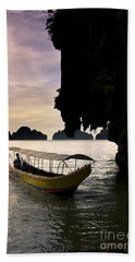Tropical Holiday In Asia Beach Towel