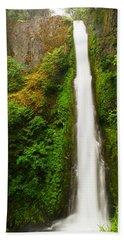 Tunnel Falls  Beach Towel by Jeff Swan