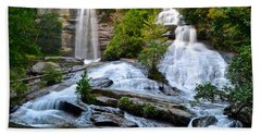 Twin Falls South Carolina Beach Towel