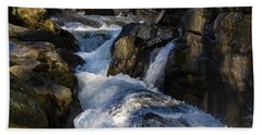 unnamed NC waterfall Beach Towel