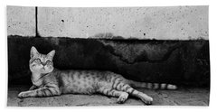 Beach Towel featuring the photograph Untitled by Laura Melis