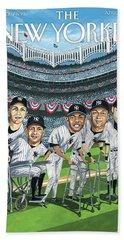 New Yorker April 8th, 2013 Beach Towel