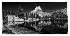 Upper Cathedral Lake Beach Towel