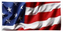 Usa Flag No.52 Beach Towel