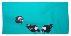 What About Me Beach Towel by Jan Matson