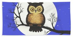 Whooo You Lookin' At Beach Towel