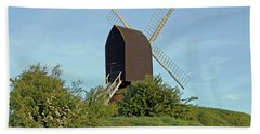 Windmill On Brill Common Beach Towel