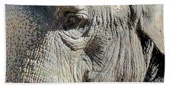 Wise One,elephant  Beach Towel