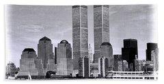 World Trade Center 3 Beach Sheet