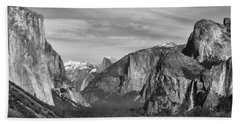 Yosemite Beach Towel by David Gleeson