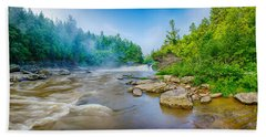 Youghiogheny River A Wild And Scenic Beach Towel