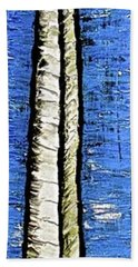 Beach Sheet featuring the painting 10-001 by Mario Perron