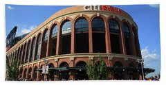 Citi Field - New York Mets 3 Beach Towel