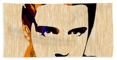 Elvis Presley Beach Towel